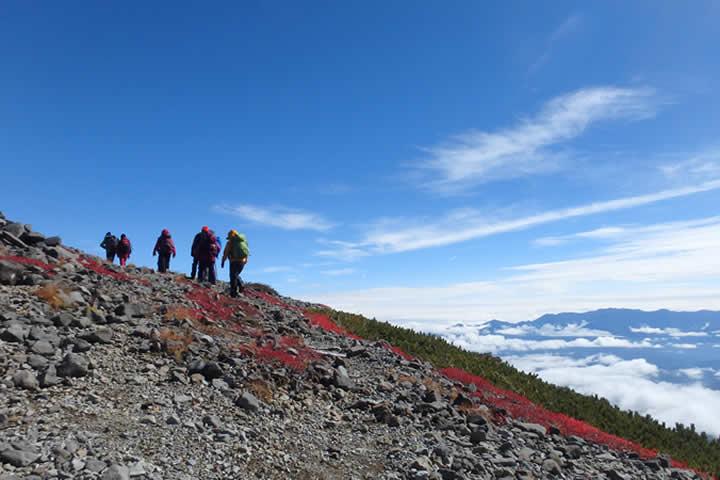 めざせ槍ヶ岳 9年間連続登頂の実績 山旅人 登山教習